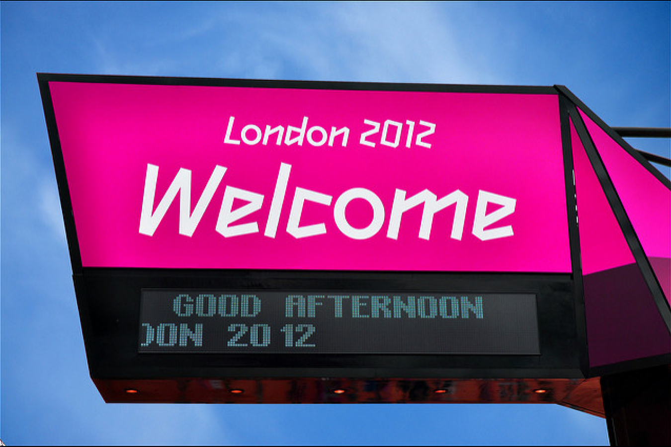 Olympic Park / Welcome