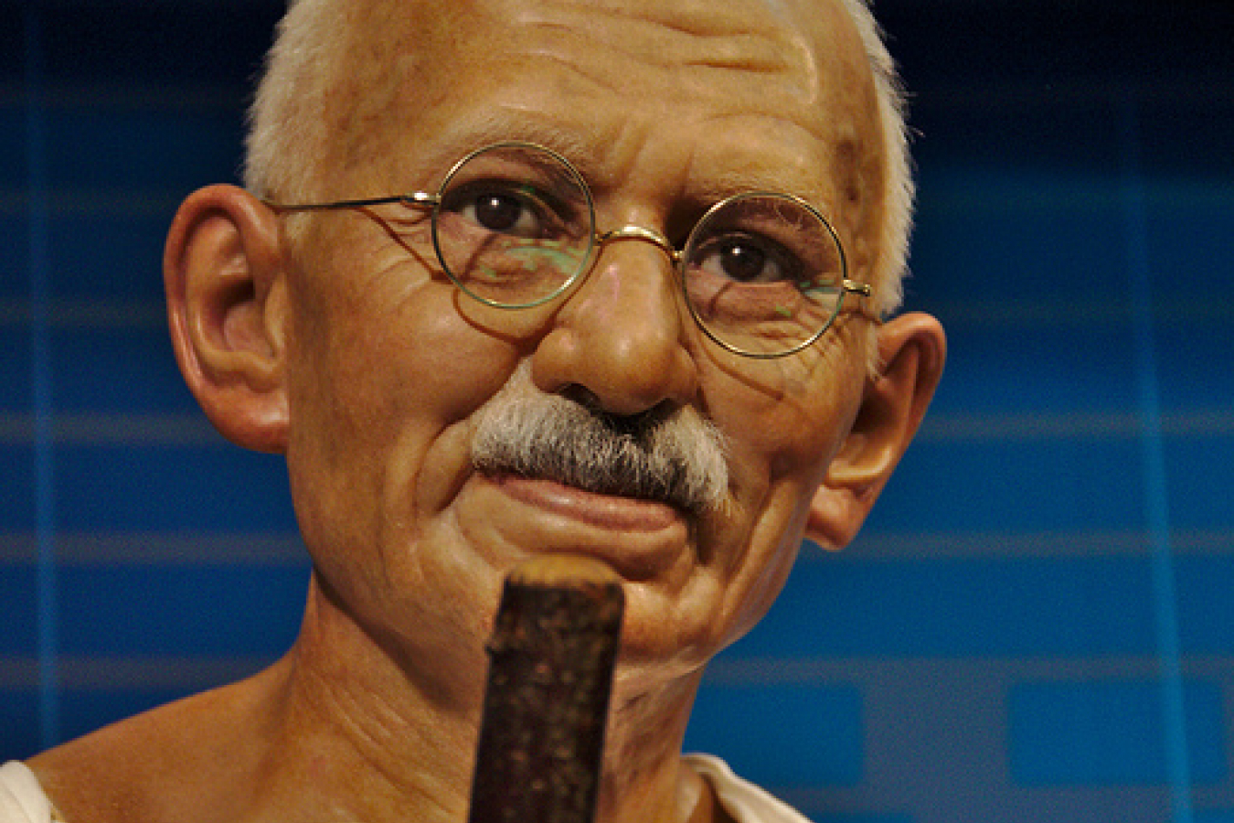 Mahatma Gandhi who studied at University College, London, UK