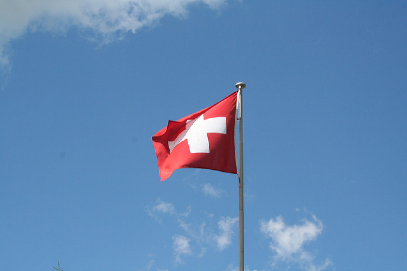 Flag at Metsch Station