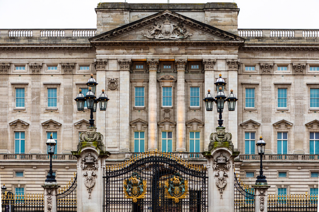 Buckingham Palace, home of the Royal Family