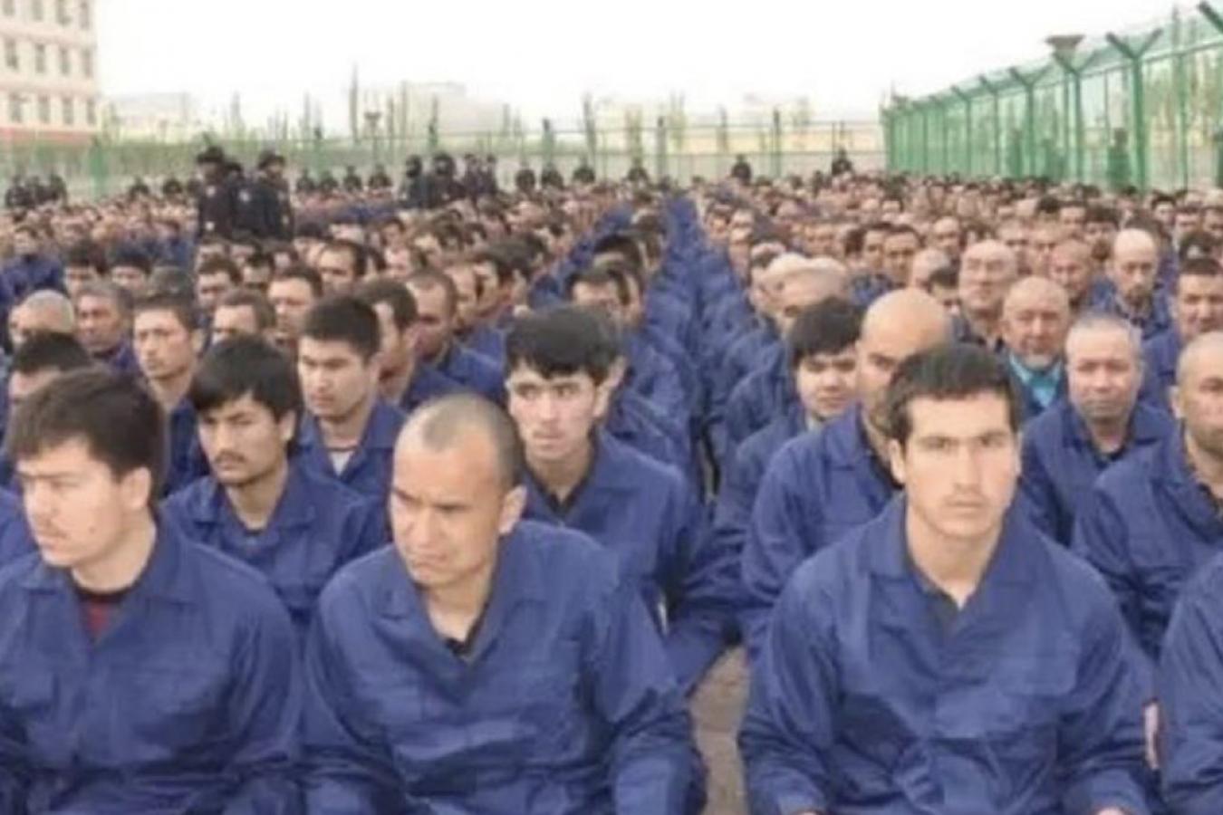 "Chinese ""concentration camp"" in Xinjiang China"