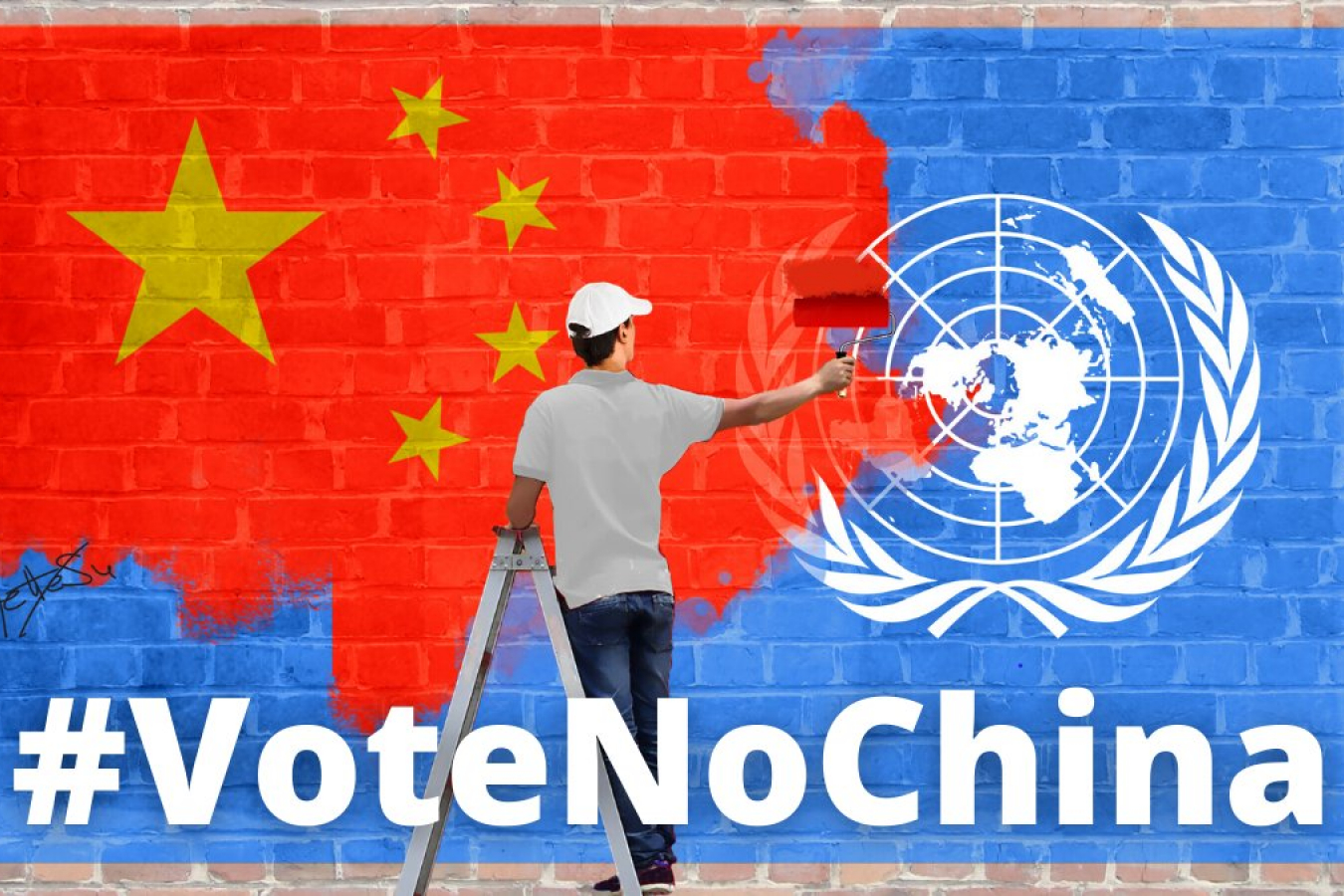 #voternochina Uyghur groups