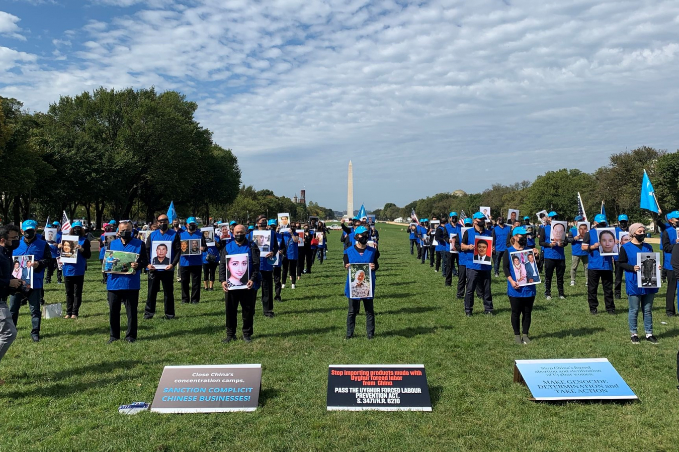 Global Day Action by Uyghurs in the US 1 October 2020