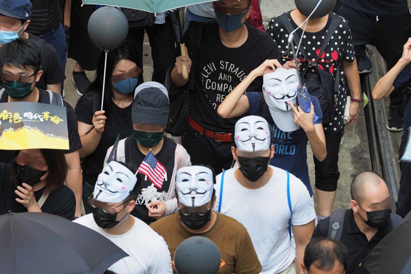 Hong Kong Activists during protests