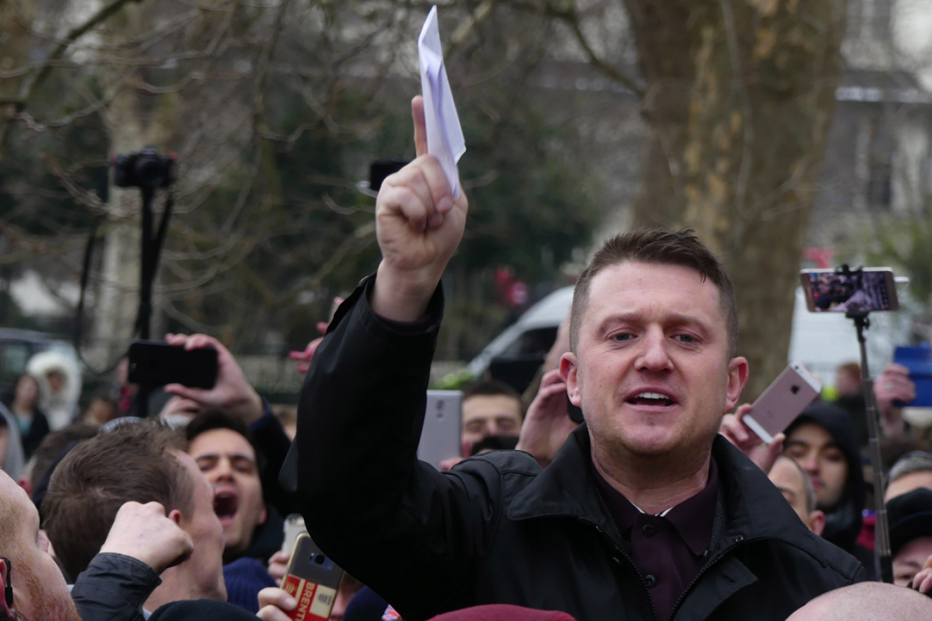 Activist Tommy Robinson