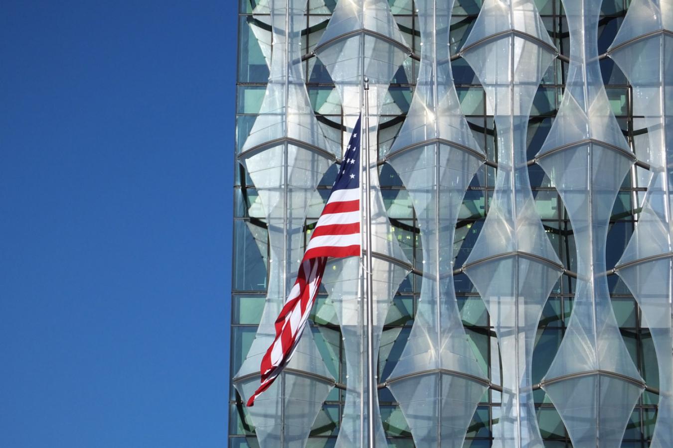 US Embassy, Nine Elms Lane, Vauxhall