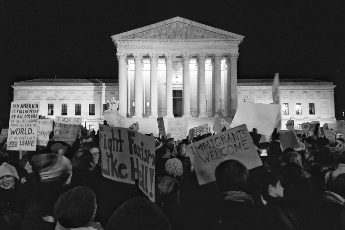 US supreme court protests