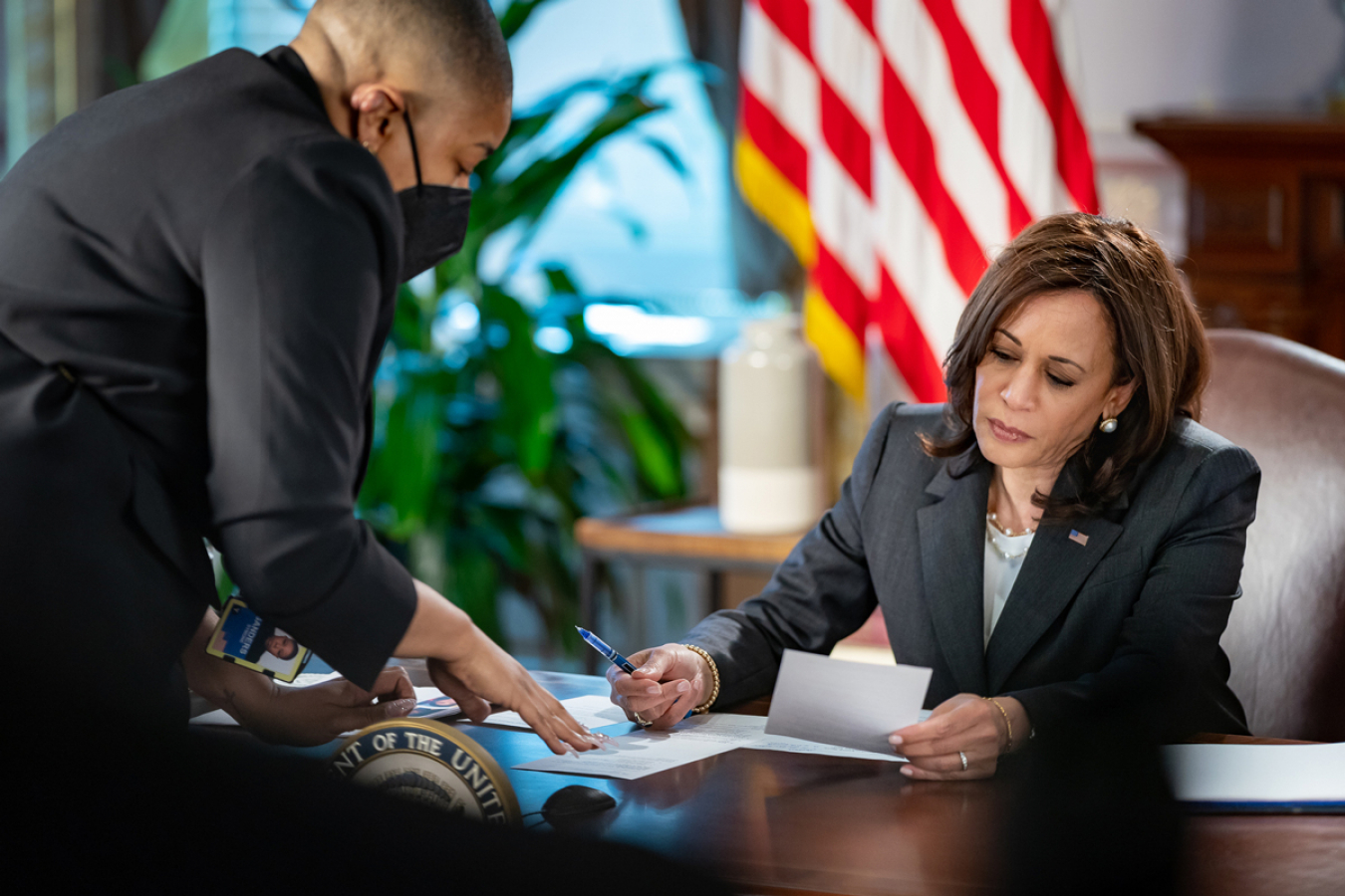 Vice President, Kamala Harris